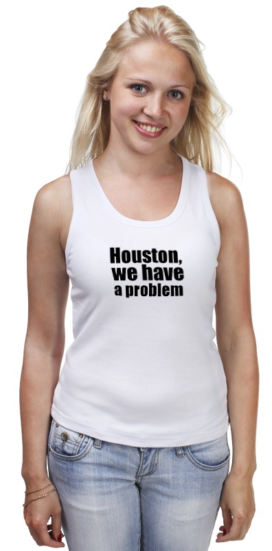 Майка классическая Printio Houston, we have a problem houston astros at toronto blue jays