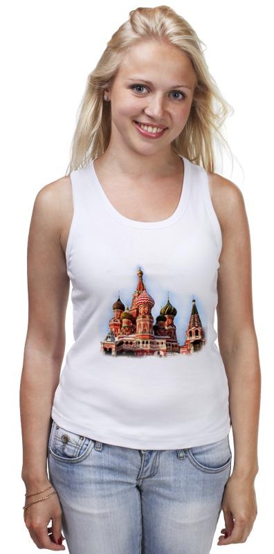 Майка классическая Printio Moscow майка борцовка print bar spartak moscow