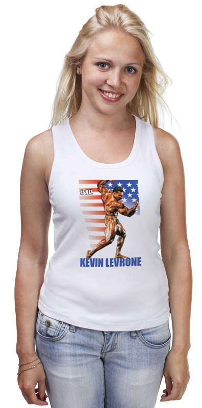 Майка классическая Printio Kevin levrone / кевин леврон kevin beaver hacking for dummies