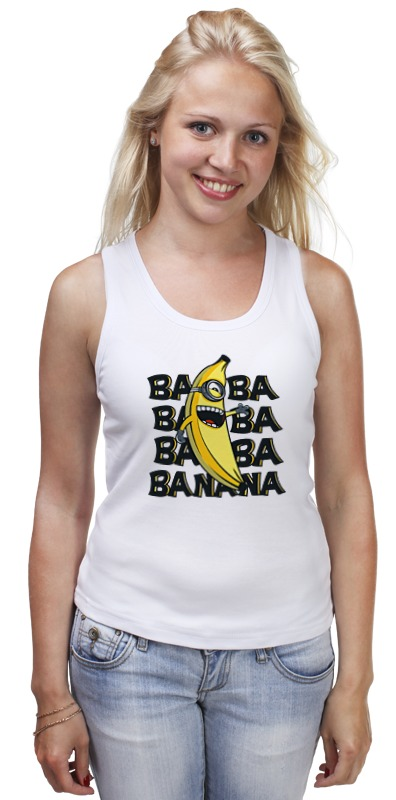 ba 110fl 3a Майка классическая Printio Ba ba banana
