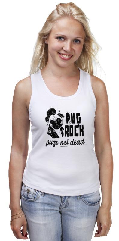Майка классическая Printio Pug rock майка классическая printio pug rock