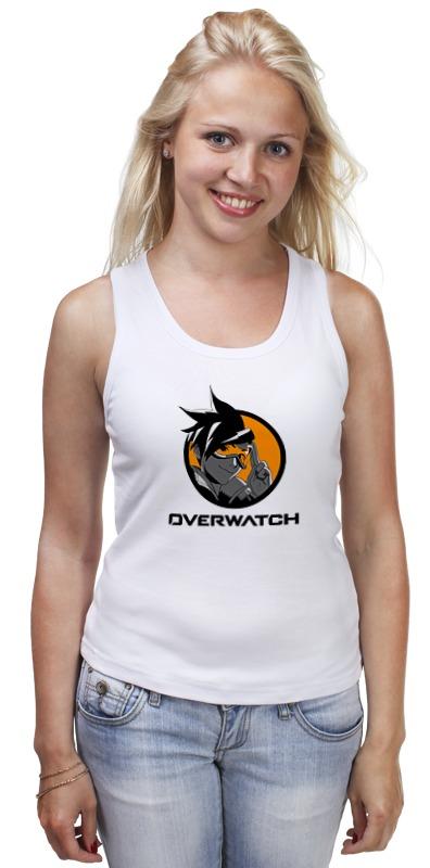 Майка классическая Printio Overwatch tracer футболка классическая printio overwatch tracer