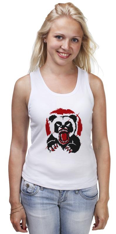 Майка классическая Printio Разъярённая панда свитшот print bar панда гангста