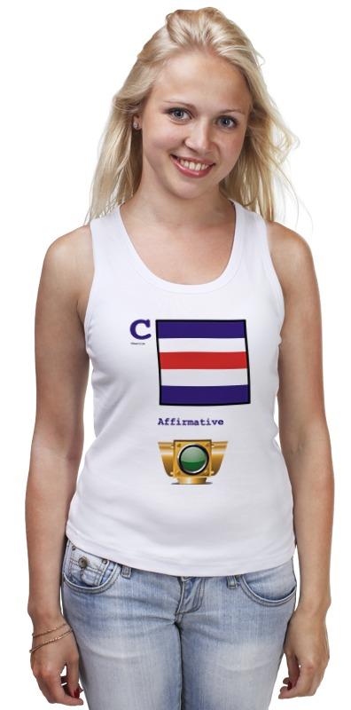 Майка классическая Printio Charlie (c), флаг мсс (eng) детская футболка классическая унисекс printio india i флаг мсс eng