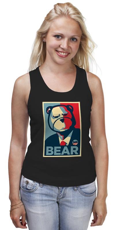 Printio Медведь президент майка классическая printio горный медведь