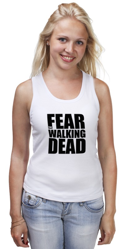 Майка классическая Printio Fear the walking dead худи print bar the walking dead