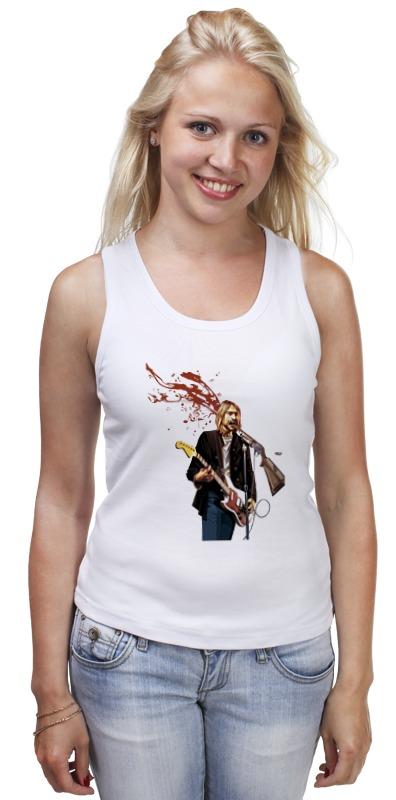 Майка классическая Printio Kurt cobain футболка классическая printio kurt cobain