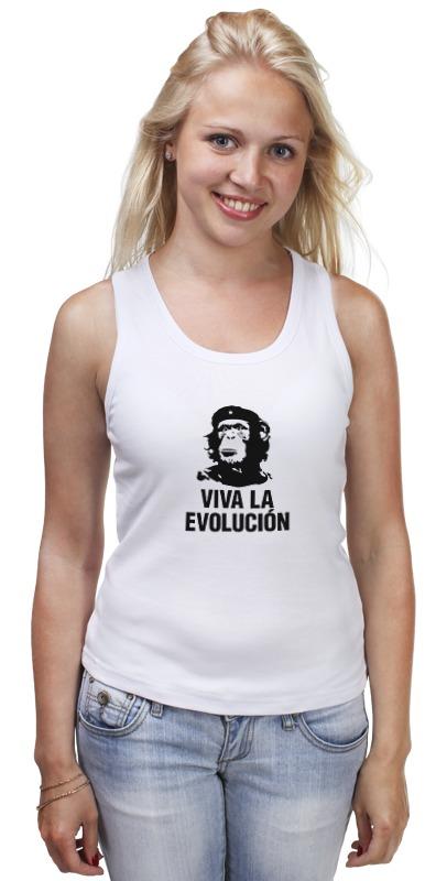 Майка классическая Printio Viva la evolucion viva baby viva baby спортивный костюм бежевый