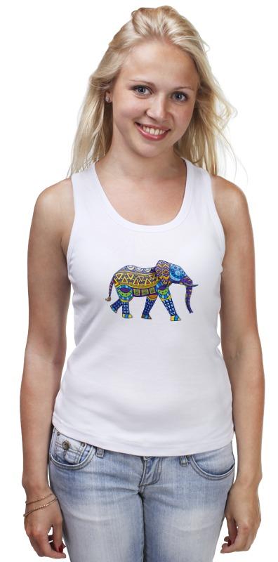 Майка классическая Printio Индийский слон