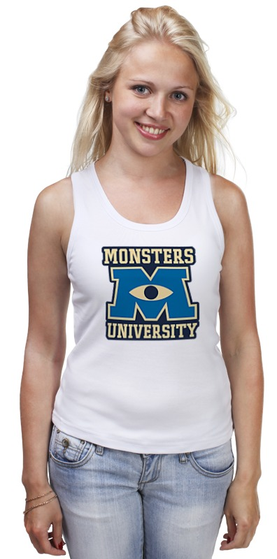 Майка классическая Printio Monsters university