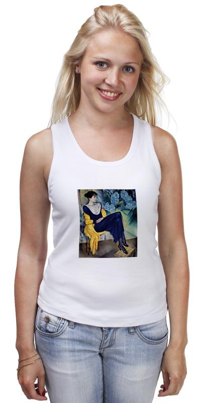 Майка классическая Printio Портрет а. а. ахматовой (натан альтман) толстовка wearcraft premium унисекс printio портрет а а ахматовой натан альтман