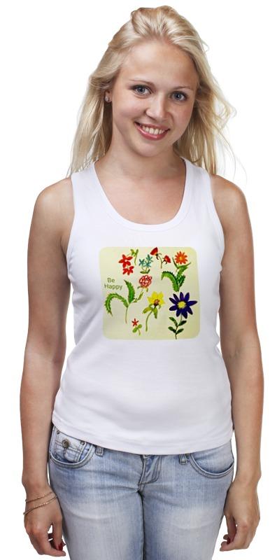 Майка классическая Printio Цветы тропиков