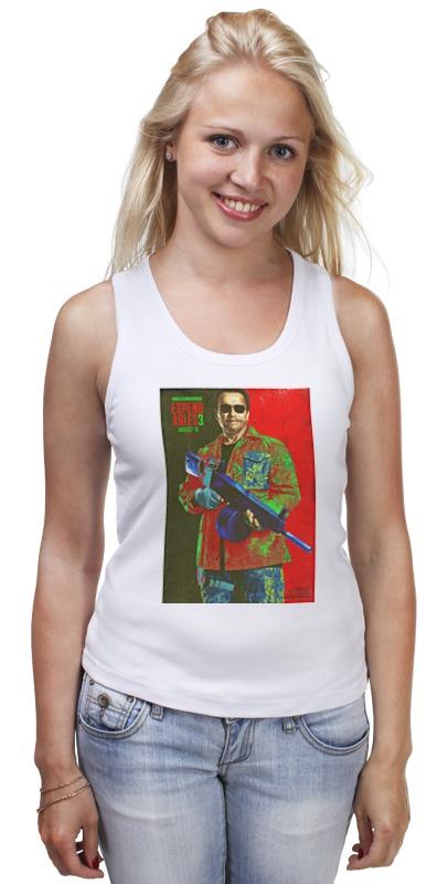 Майка классическая Printio Expendables iii shwarzenegger colors футболка wearcraft premium slim fit printio expendables iii shwarzenegger colors
