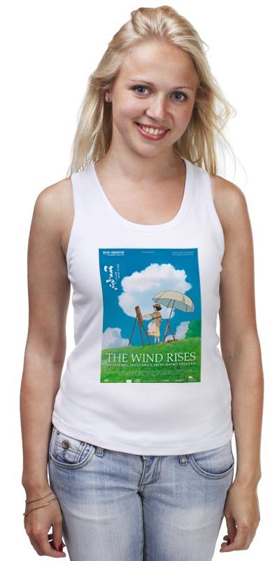 Майка классическая Printio Ветер крепчает / the wind rises / хаяо миядзаки падение сквозь ветер