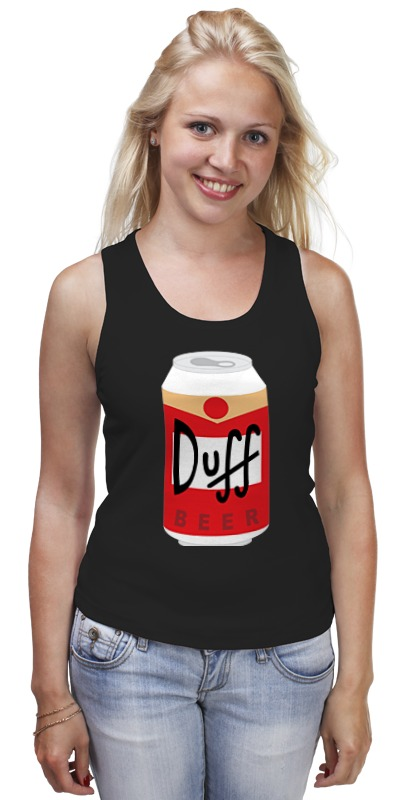 Майка классическая Printio Пиво дафф (duff beer) сумка printio duff beer