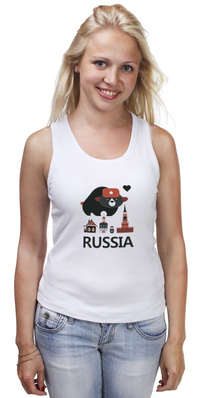 Майка классическая Printio Россия (russia) россия 80045000000 матрешка 5м 1