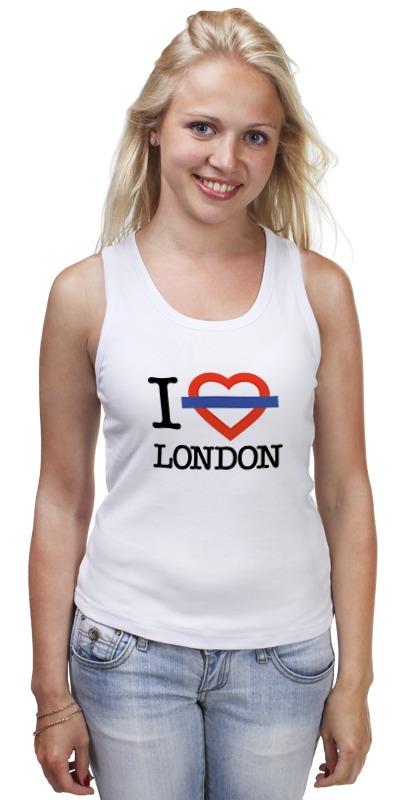 Майка классическая Printio Люблю лондон сейф я люблю лондон