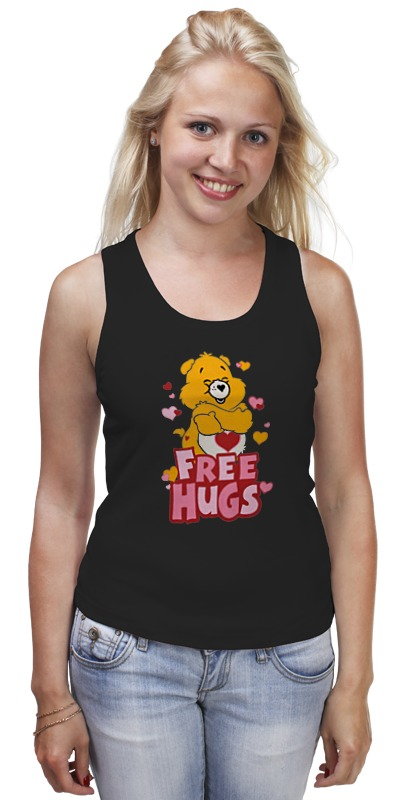 Майка классическая Printio Free hugs basically hugs