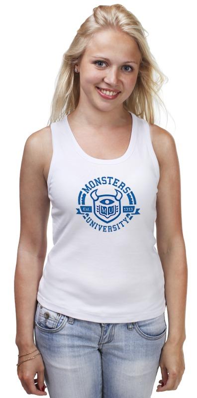 Майка классическая Printio Monsters university майка борцовка print bar turtles university