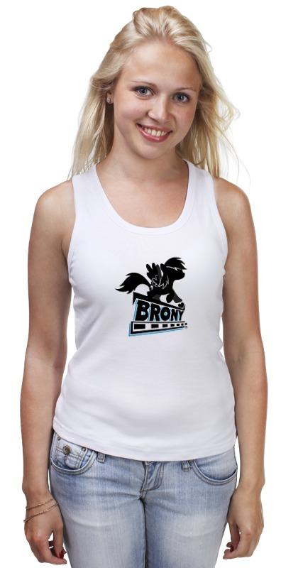 Майка классическая Printio Брони (моя маленькая пони) майка классическая printio стильная майка brony