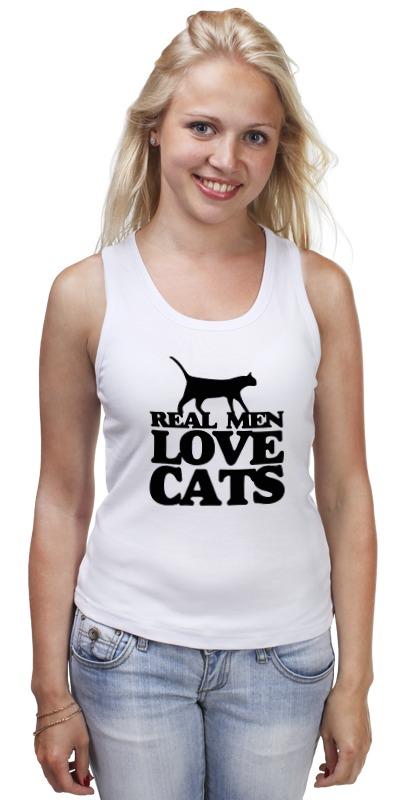 Майка классическая Printio Мужчины любят кошек