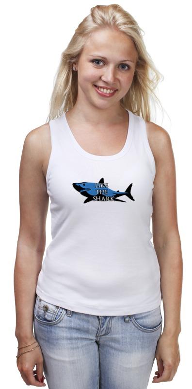 Майка классическая Printio Like the shark