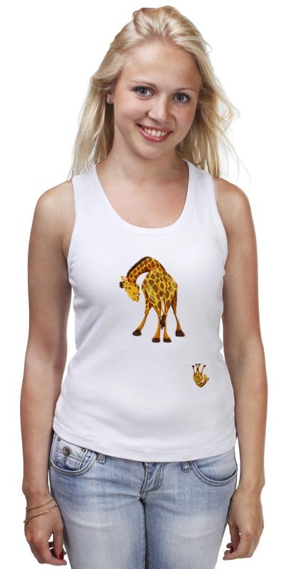 Майка классическая Printio Жираф майка print bar жираф паук