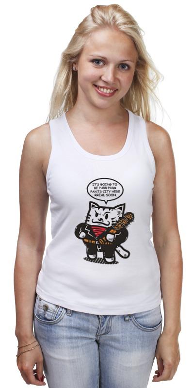 Майка классическая Printio Ниган - кот детская футболка классическая унисекс printio ниган кот