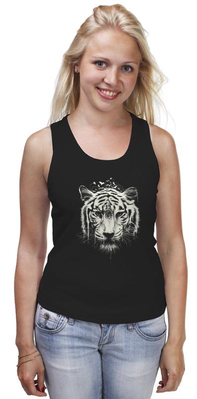 Майка классическая Printio Белый тигр