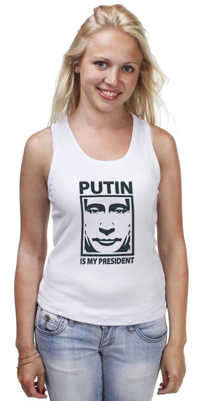 Майка классическая Printio Путин