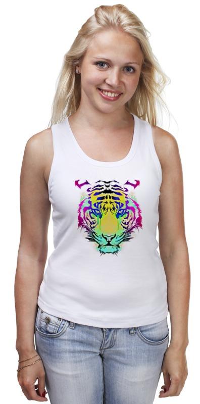 Майка классическая Printio Тигр абстракция майка классическая printio белый тигр