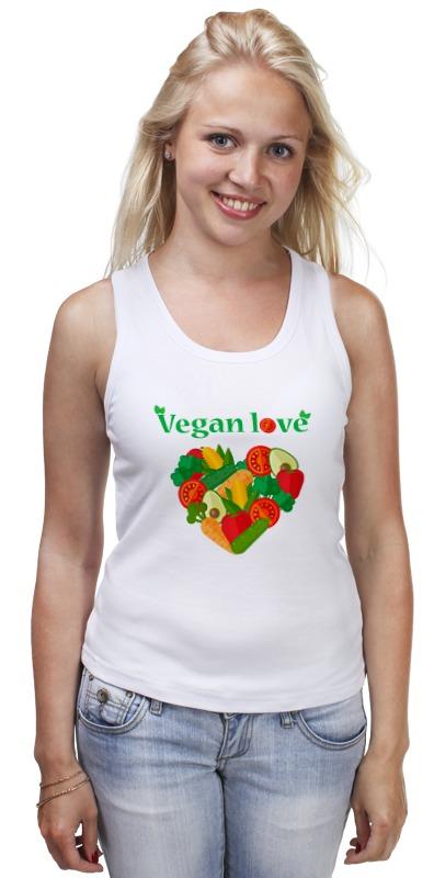 Фото - Майка классическая Printio Vegan love майка классическая printio vegan life