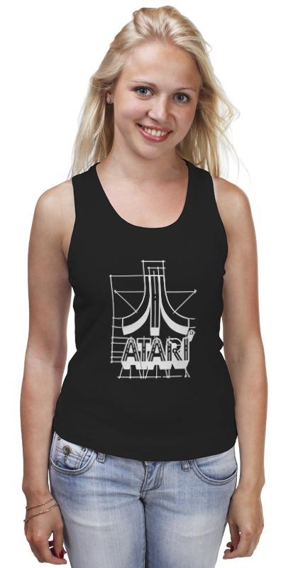 Майка классическая Printio Логотип атари - atari logo футболка wearcraft premium printio логотип атари atari logo