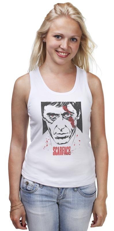 Майка классическая Printio Scarface футболка wearcraft premium printio тони монтана лицо со шрамом