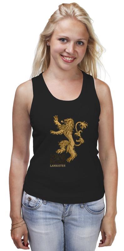 Майка классическая Printio Lannister майка борцовка print bar jaime lannister