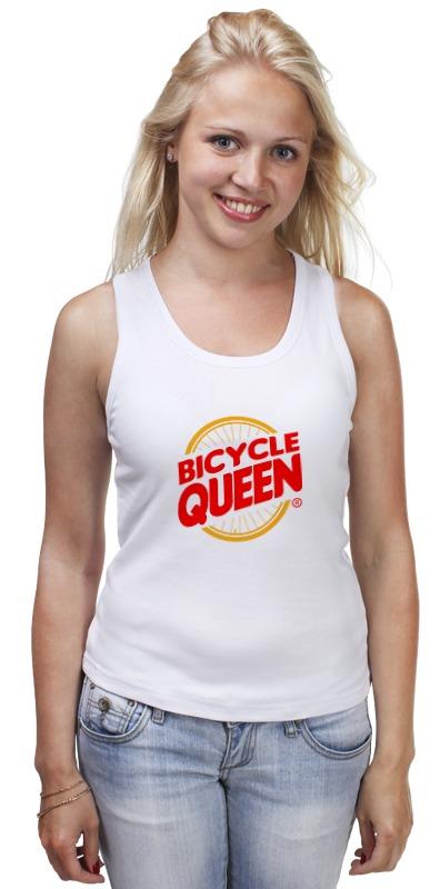 Фото - Майка классическая Printio Велосипедная королева вилка велосипедная rockshox 14 vivid r2c 200mm 222mm