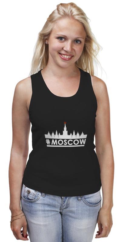 Майка классическая Printio #moscow. майка борцовка print bar spartak moscow