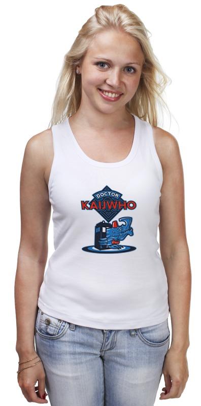 Майка классическая Printio Doctor who x kaiju футболка wearcraft premium printio doctor who x kaiju