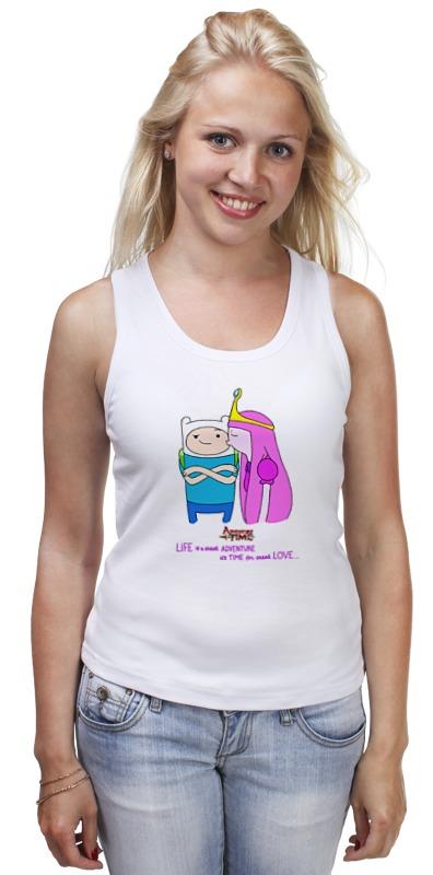 Майка классическая Printio Adventure time майка классическая printio война никогда не меняется