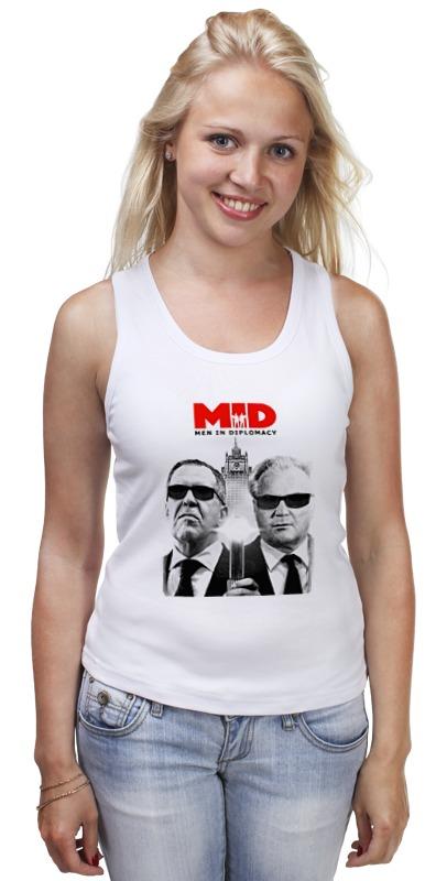 Майка классическая Printio Mid - men in diplomacy футболка рингер printio men in diplomacy