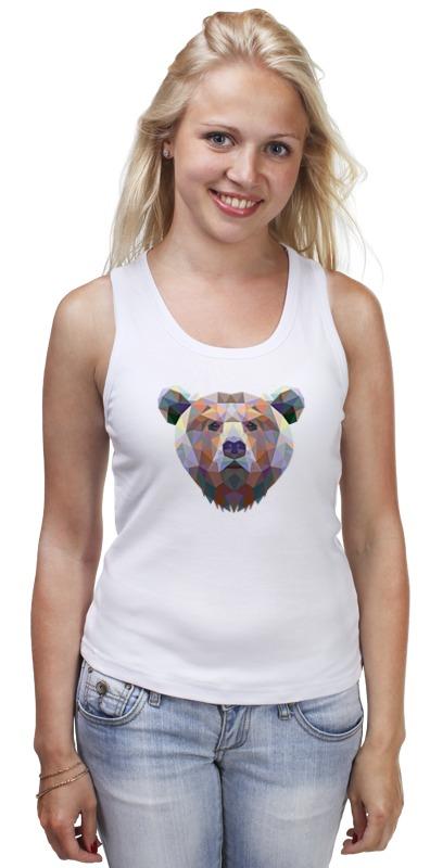 Майка классическая Printio Полигональный медведь майка классическая printio полигональный медведь