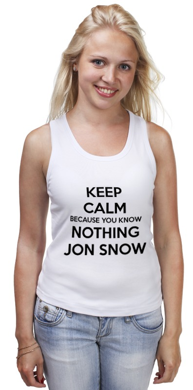 Майка классическая Printio Jon snow jon hopkins london