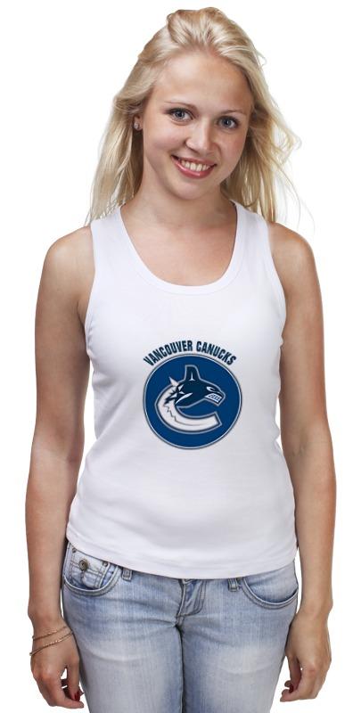 Майка классическая Printio Vancouver canucks детская футболка классическая унисекс printio vancouver canucks nhl canada