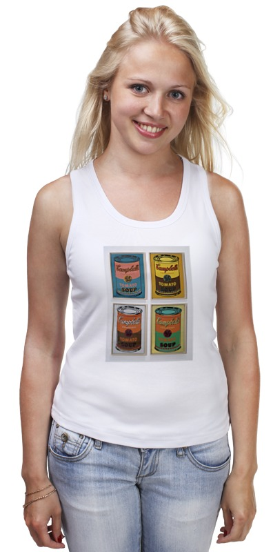 Майка классическая Printio Банки с супом кэмпбелл (campbell's soup cans) кэмпбелл а обольститель и куртизанка