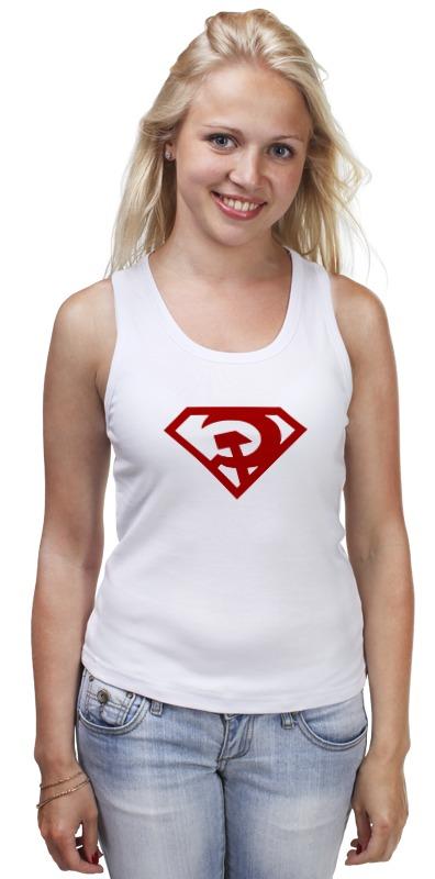 Майка классическая Printio Ссср (супермен) сумка printio ссср супермен