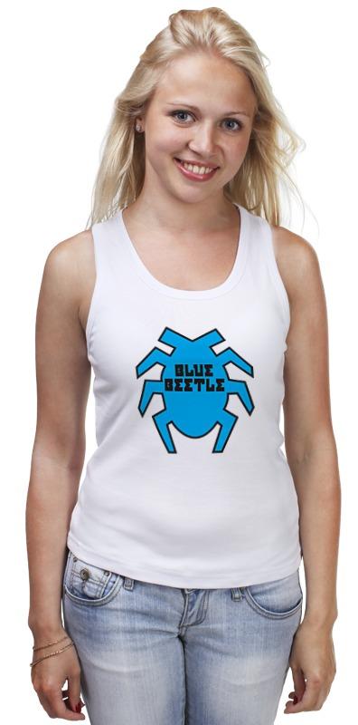 Майка классическая Printio Синий жук футболка стрэйч printio вольскваген жук