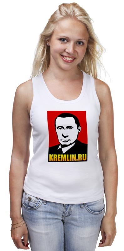 Майка классическая Printio Путин билет в ленком официальный сайт