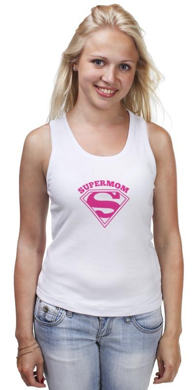 Майка классическая Printio Супермама (supermom) майка классическая printio сан хосе шаркс