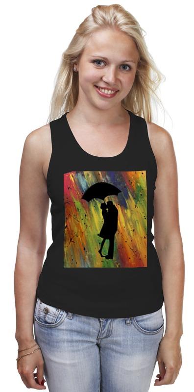 Майка классическая Printio Двое под дождём мария викторовна корчагина под лондонским дождём