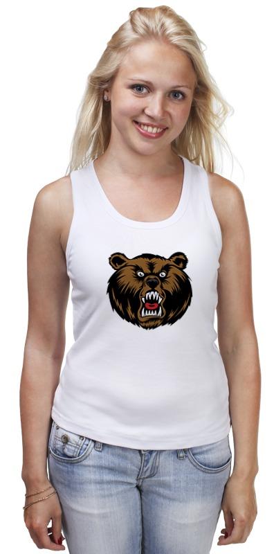 Printio Медведь майка классическая printio медведь 3d